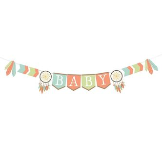 Babyparty Girlande Baby