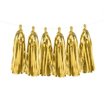 Tassel Girlande gold 1,5 m