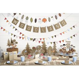 Cake Topper Mix Woodland 5 tlg.